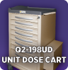 Q2-198SP Strip Pack / Unit Dose Cart