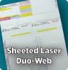 Sheeted Duo-Web Laser Labels