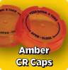 Clear Amber Child Resistant Caps