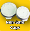 White Non-Safe Caps